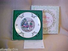 Nib Royal Doulton Christmas Plate 1979~Third of a Series~Bone China in England