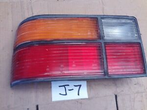 1986 HYUNDAI EXCEL LEFT LH TAIL LIGHT LAMP LENS IMPORT KOREA REAR ASSEMBLY 1985