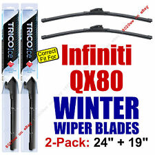 WINTER Wiper Blades 2-Pack Premium - fit 2014+ Infiniti QX80 - 35240/190