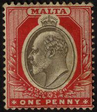 Pre-Decimal Edward VII (1902-1910) Malta Stamps (Pre-1964)
