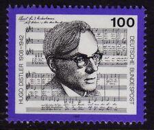 Germany 1992  Hugo Distler, Composer and Conductor SG 2485 MNH