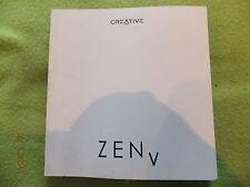 Creative Zen V-cinco-Manual De Instrucciones - 18 idiomas