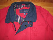 """Usa Olympics """"Rings"""" Proud Sponsor Xerox Swingster Embroidered (Lg) Jacket"""