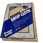 Global Guard Absorbent 9' X 12' Paper Craft Drop Cloth