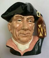 Royal Doulton Small Character Toby Jug Night Watchman Williamsburg