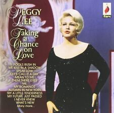 PEGGY LEE - TAKING A CHANCE ON LOVE  CD NEW+