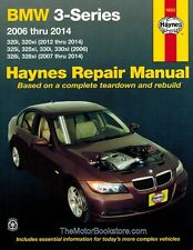 BMW 320, 320xi, 325i, 325xi, 330i, 330xi, 328i, 328xi 2006-2014 Haynes Manual