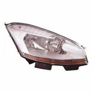 For Citroen C4 Grand Picasso 2007-2010 Headlight Headlamp Uk Drivers Side O/S