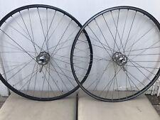campagnolo wheels/ Campagnolo Record High Flange Wheel set / Vintage Bike Wheels