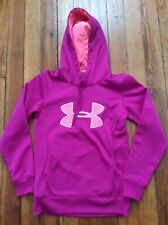 Under Armour Women's Hoodie Sweatshirt - Pink/Coral - Sz XS