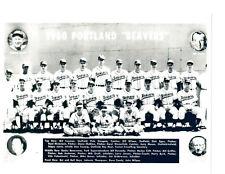 1960 PORTLAND BEAVERS PCL TEAM 8X10 PHOTO  BASEBALL AAA OREGON
