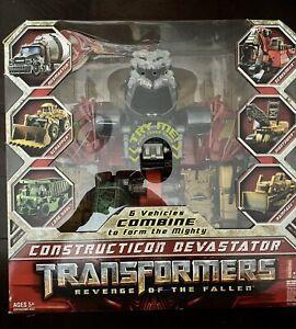 TRANSFORMERS - REVENGE OF THE FALLEN - CONSTRUCTICOR DEVESTATOR (2009)  - MINT
