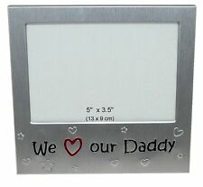 "We Love Our Daddy Photo Picture Frame Gift - 5"" x 3.5"""