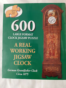 Father Time 600 Piece Large Format Clock Jigsaw Puzzle