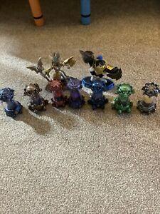 Skylanders Imaginators Creation Crystals - 7 different Elements Not Reset