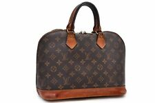 Authentic Louis Vuitton Monogram Alma Hand Bag M51130 LV 90095
