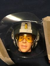 """1/6 Star Wars 12"""" Wedge Red Squadron X-Wing Pilot Helmet For Sideshow/medicom"""