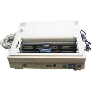 PANASONIC KX-P1124 / 24 Pin Multi-Mode Impact Dot Matrix Printer Powers On Vntg