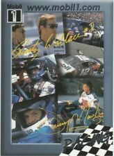 Rusty Wallace / Jeremy Mayfield Mobil 1 Racing Glossy 7 card lot  Ser #'d 09468