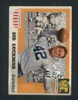 1955 Topps All American #85 Sid Luckman VGEX 99444