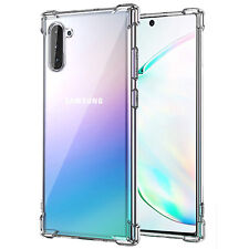 Samsung Galaxy Note 10 Soft TPU Clear Case Lightweight Flexible Protective Cover