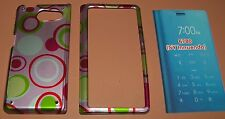 Colorful 2 part snap on Hard Case for Sanyo Innuendo 6780, clear glossy finish
