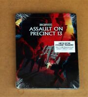 ASSAULT ON PRECINCT 13 (SCREAM FACTORY) BLURAY LIMITED EDITION STEELBOOK NEW