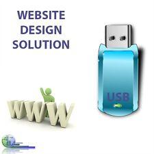 Website Web Page Builder Design Suite Software USB