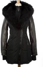 Rudsak Winter Grace Coat Parka Black Down Jacket Fur Size XS+ Travelling Bag