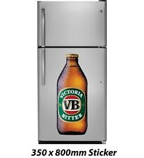Victoria Bitter VB Beer Bottle Sticker 350x800mm Decal Plaque Sign Poster