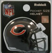 NFL American Football CHICAGO BEARS Riddell SPEED Pocket Pro Helmet