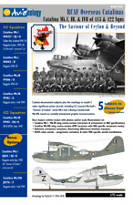 RCAF Catalina Mk.I, IB, & VIB of 413 & 422 Sqns – 1/72 scale Decals 'n Docs