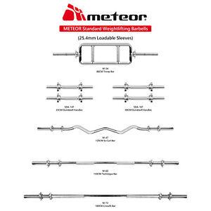 METEOR Standard Barbell bar-Dumbell Bar-Tricep Bar-Ez Curl Bar-Weight Lifting