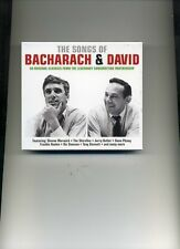 THE SONGS OF BACHARACH & DAVID - GENE PITNEY PERRY COMO CLIFF - 2 CDS - NEW!!