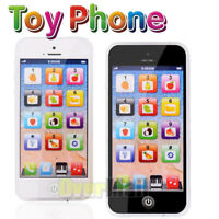 Kids Simulator Music Toy Cell Phone Touch Screen Educational Learning Child Gift