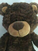 Kellytoy Teddy Bear Plush Stuffed Animal Brown 16in Soft Cuddly Toy