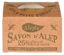 Lot de 4 savons d'Alep 25% laurier