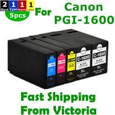 5X Canon PGI1600XL PGI 1600XL ink Cartridge For MB2060 MB2360 MB2760 MB2160