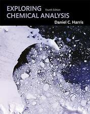 Exploring Chemical Analysis, Daniel C. Harris, Acceptable Book