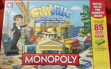 Zynga Cityville Monopoly Board Game New Sealed