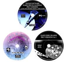 Récupération de données-Disque Dur Sauvegarde Clone-Effacer Essuyer format Clean-PC MAC CD