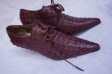 real alligator crocodile skin ladies shoes unused handmade