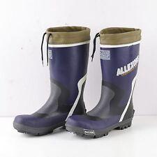 Hunter Blue Neoprene lined Wellies Wellington Rubber Field Boots