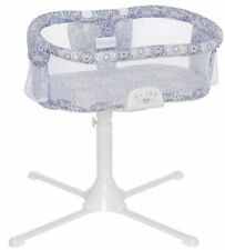Halo Bassinest Swivel Sleeper Bassinet Luxe Infant Baby Crib Blue Medallion New