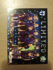 Uefa euro 2020 2021 kick off Adrenalyn xl  limited card Finland