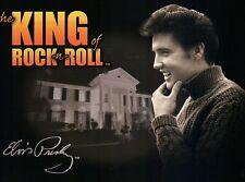 Elvis Presley, The King of Rock 'n Roll, at Graceland Memphis Tennessee Postcard
