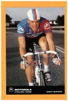 SPORT VELO / Coureur Cycliste Andy BISHOP EQUIPE Américaine MOTOROLA en 1991