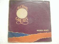 ALL TIME GREATS MOHD RAFI 1986 RARE LP RECORD bollywood EX