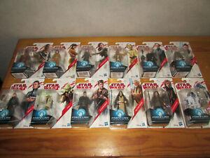 Lot de 12 figurines Star Wars Force Link blister neuf Hasbro Disney