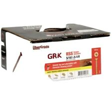 """CASE OF 300 GRK 5/16 X 6"""" RSS RUGGED STRUCTIAL SCREWS APROX 16.76 POUNDS"""